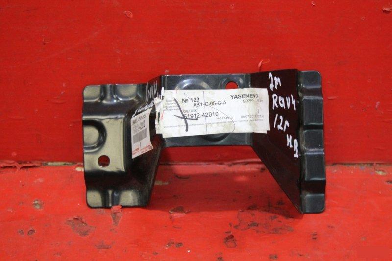 Кронштейн запасного колеса Toyota Rav4 CA40 2013 задний