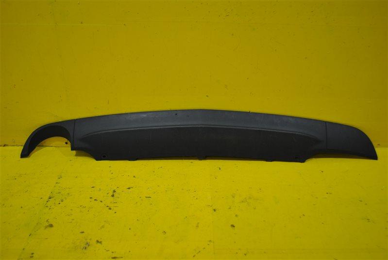 Накладка бампера Opel Zafira C 2012 задняя