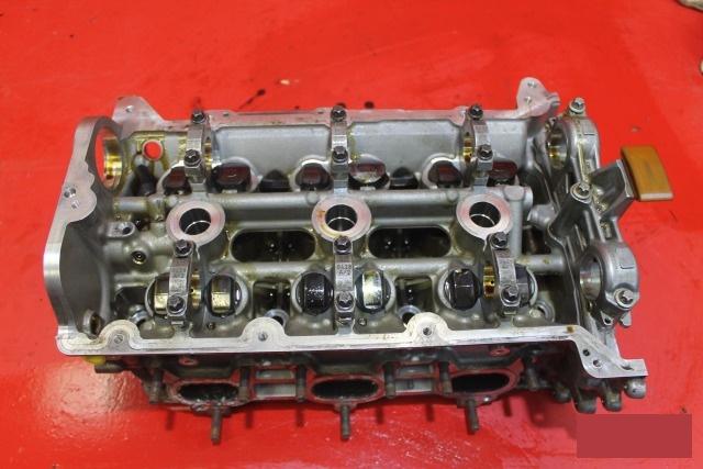 Головка блока цилиндров двигатель Porsche Panamera 970 2013 правая