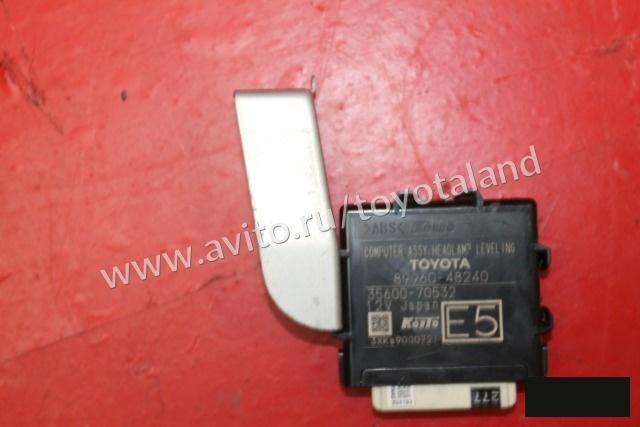 Блок регулировки фар Toyota Highlander 3 XU50 2013 правый