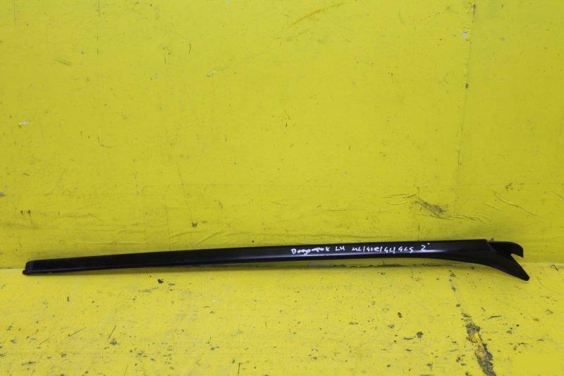 Молдинг лобового стекла Mercedes Ml W166 X166 2011 левый