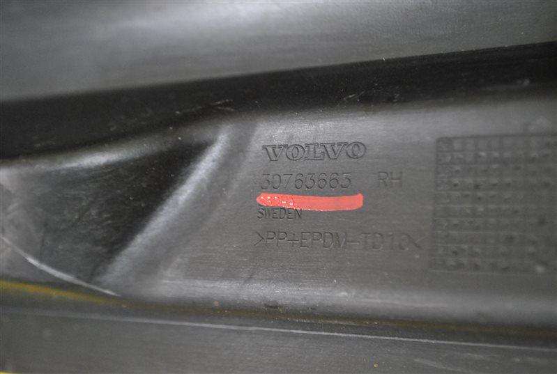 Накладка порога Volvo Xc70 2007 правая