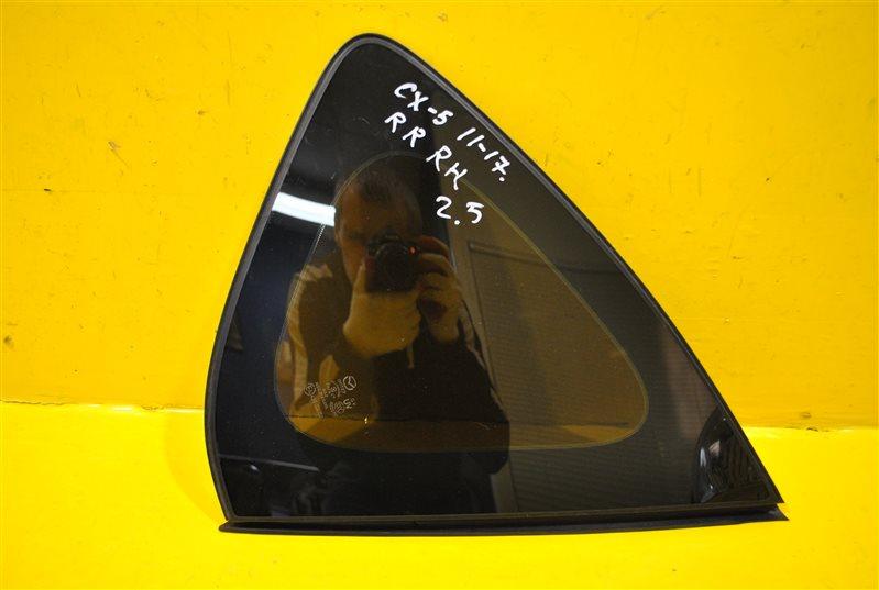 Стекло крыла Mazda Cx-5 1 2011 заднее правое