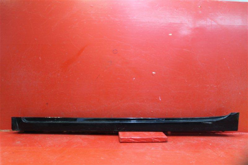 Накладка порога Toyota Prius 2009 левая
