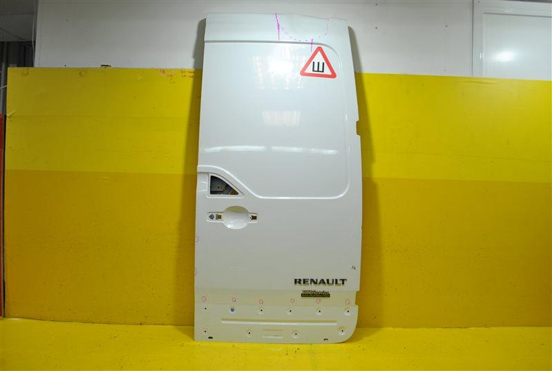 Дверь багажника Renault Master 2010 задняя