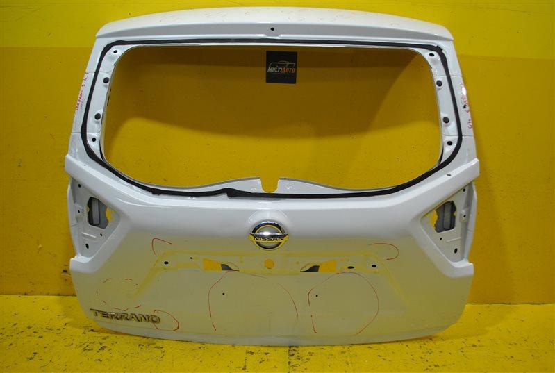 Крышка багажника Nissan Terrano 3 2014 задняя