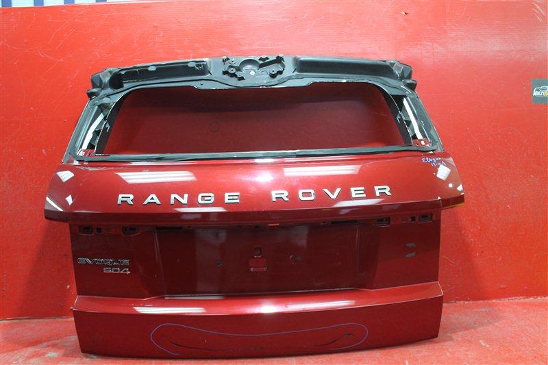 Крышка багажника Land Rover Evoque 2011 задняя