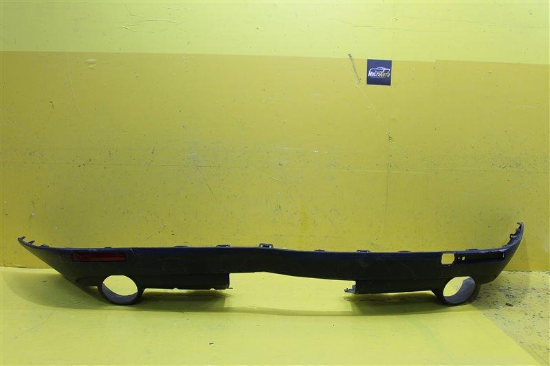 Юбка бампера Cadillac Srx 2 2012 задняя