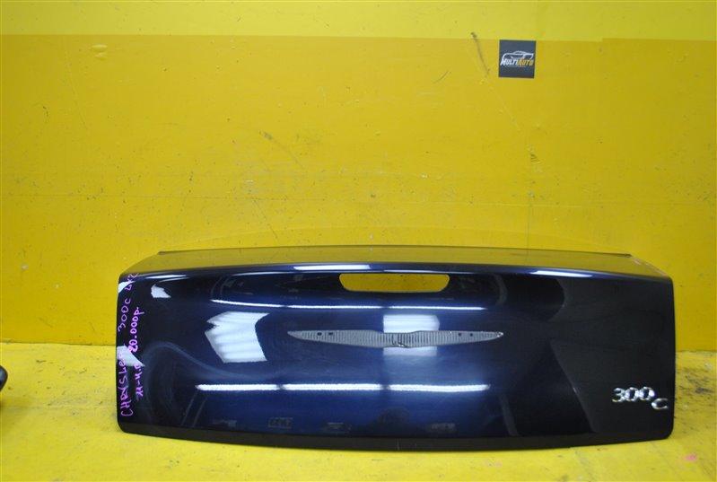 Крышка багажника Chrysler 300 C 2011 задняя