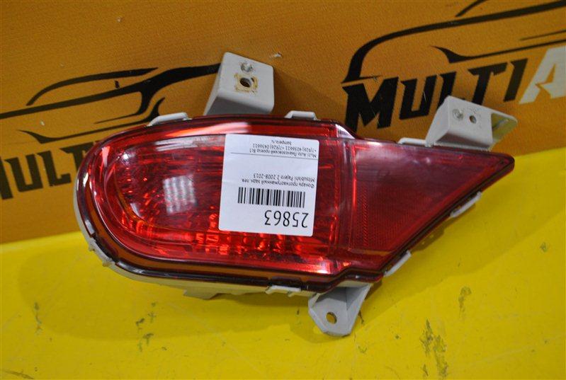 Фонарь противотуманный Mitsubishi Pajero 2 2008 задний левый