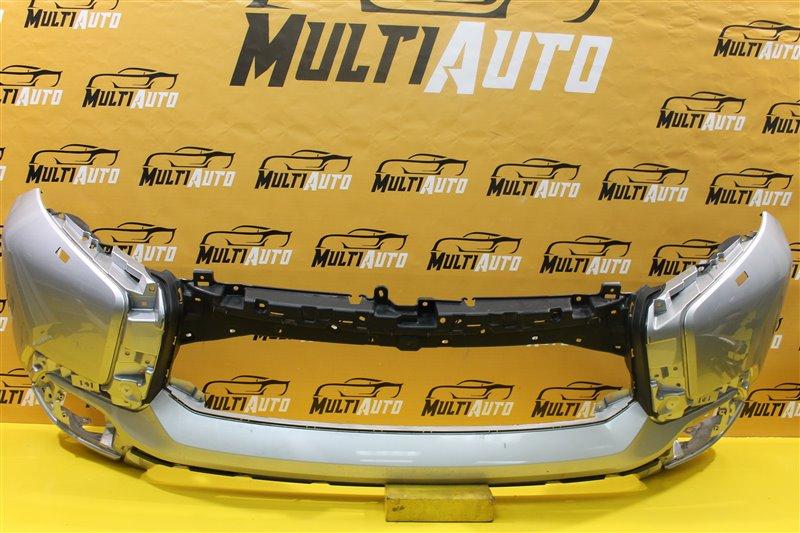 Бампер Mitsubishi Pajero Sport 3 QX 2015 передний