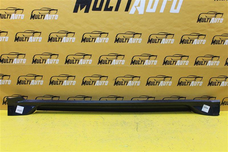 Накладка порога Mitsubishi Pajero Sport 3 2015 левая