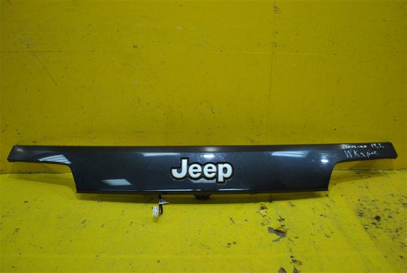 Накладка крышки багажника Jeep Grand Cherokee WK2 2013 задняя