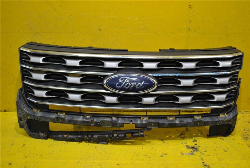 Решетка радиатора Ford Explorer 5 XLT SPORT 2015 передняя