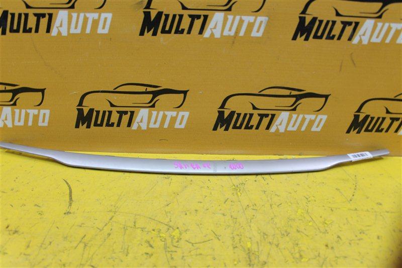 Накладка решетки радиатора Hyundai Santa Fe 3 2015 передняя нижняя