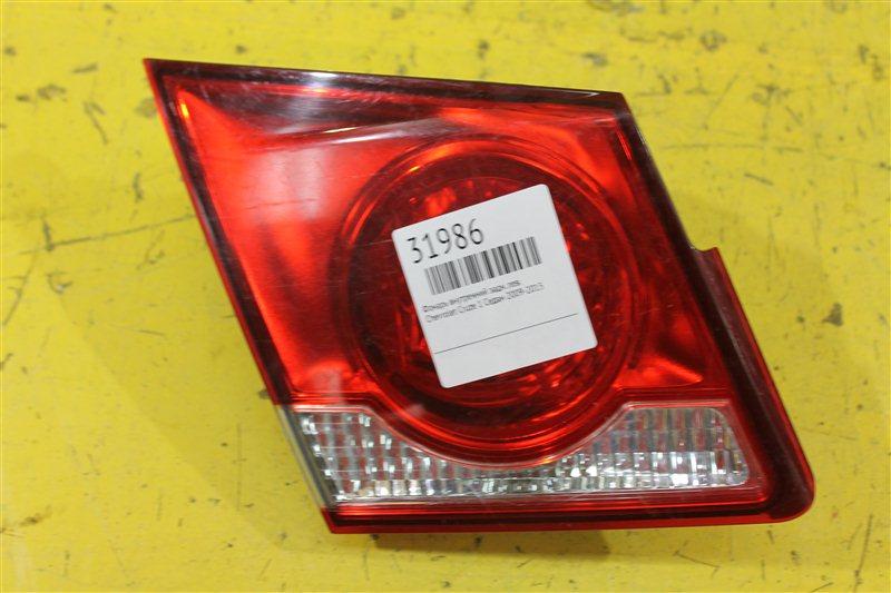Фонарь внутренний Chevrolet Cruze 1 СЕДАН 2009 задний левый