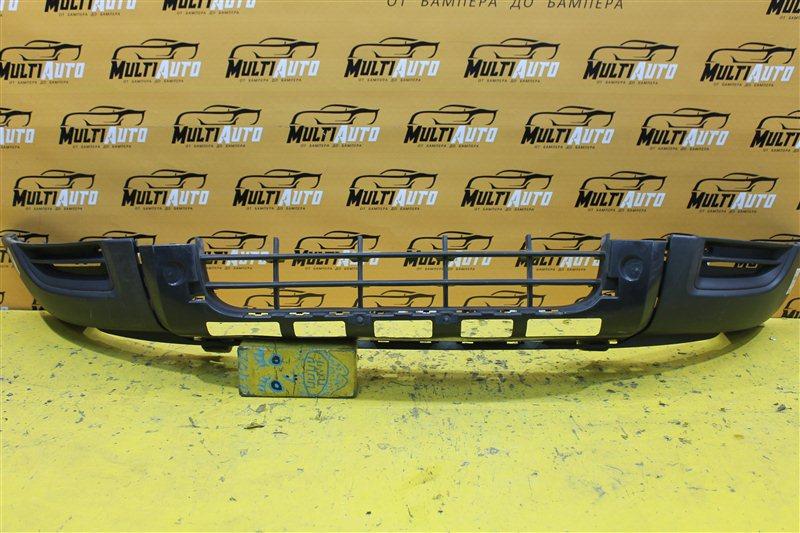 Юбка бампера Skoda Yeti 1 2009 передняя нижняя