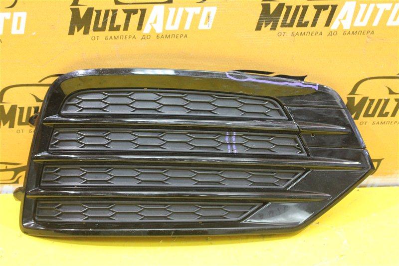 Решетка в бампер Audi Q3 8U S-LINE 2014 передняя правая