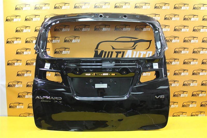Крышка багажника Toyota Alphard 3 2015 задняя