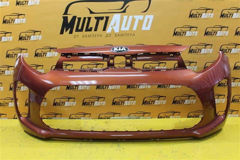 Бампер Kia Picanto 3 2017 передний