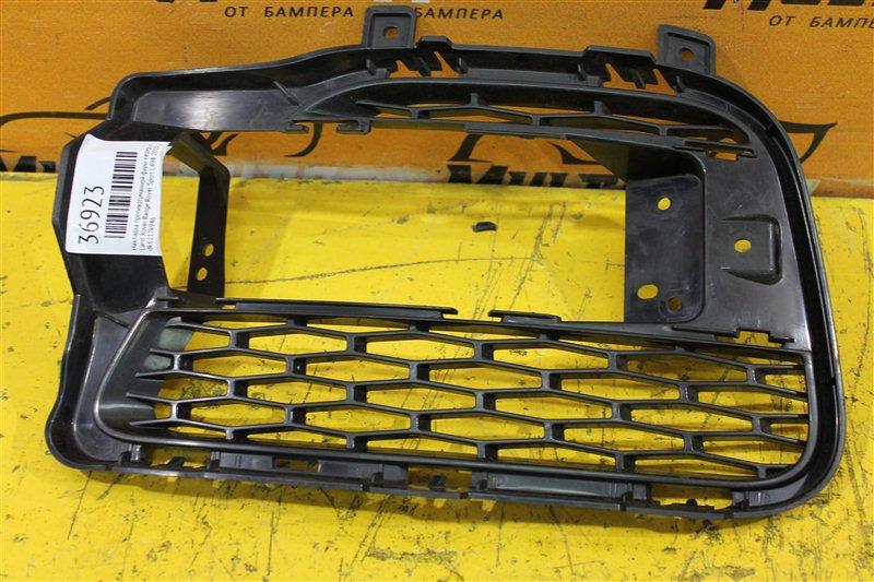 Накладка противотуманной фары Land Rover Sport L494 2013 передняя правая