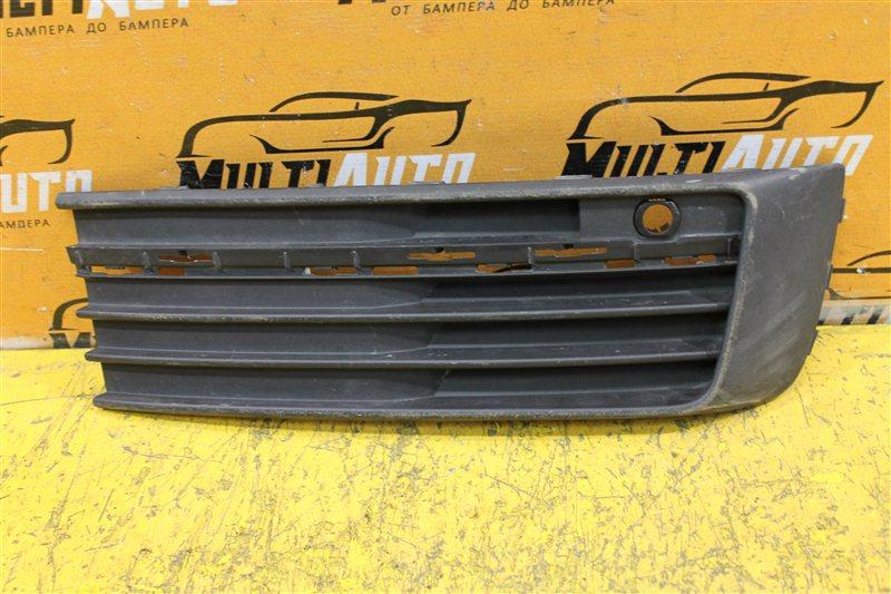 Решетка в бампер Volkswagen Transporter T6 2015 передняя правая