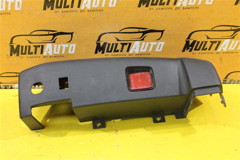 Часть бампера Fiat Ducato 2006 задний правый