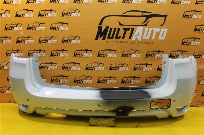 Бампер Nissan Terrano 3 2014 задний