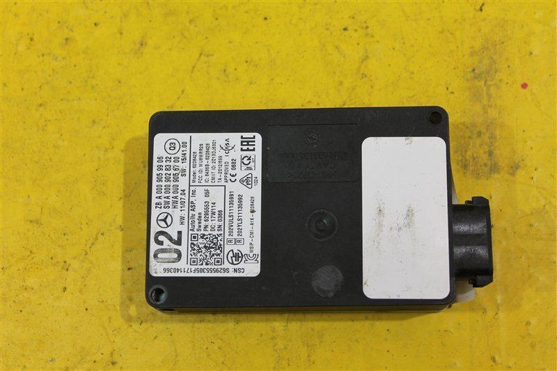 Радарный датчик Mercedes Ml W166 X166 2011