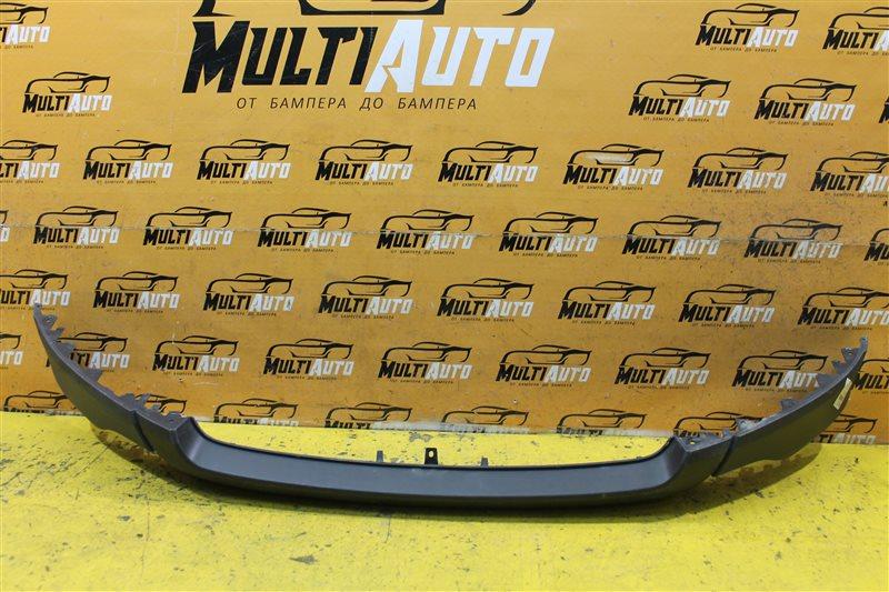 Юбка бампера Ford Ecosport 1 2014 передняя нижняя