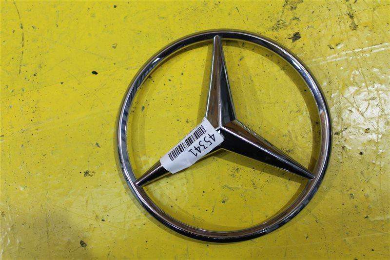 Эмблема решетки радиатора Mercedes Ml W166 2012 передняя