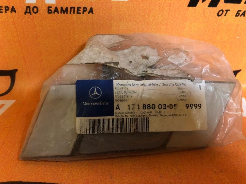 Крышка форсунки Mercedes Slk R171 передняя левая