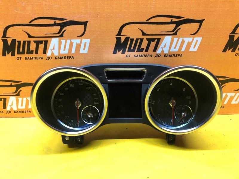 Панель приборов Mercedes Ml W166