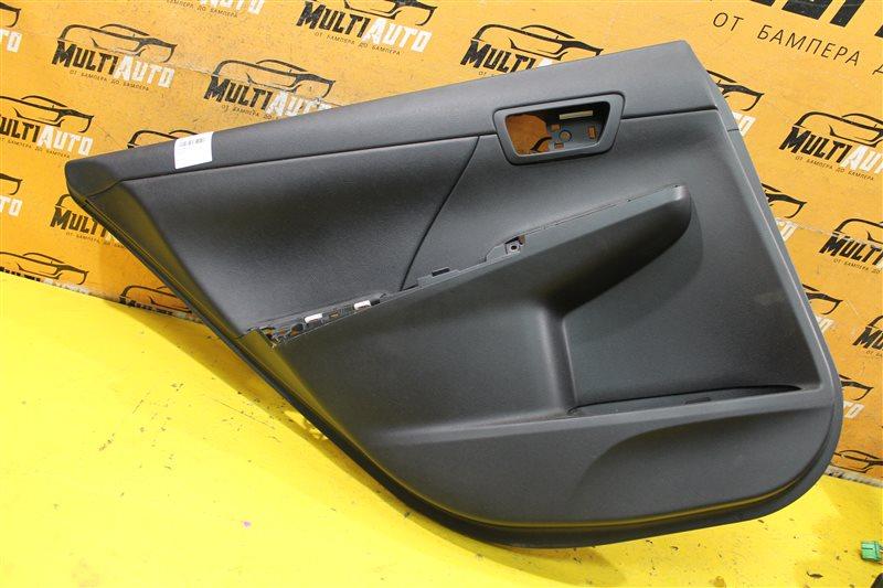 Обшивка двери Toyota Camry 50 2011 задняя левая