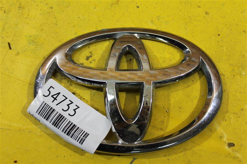 Эмблема Toyota Verso 1 2009 задняя