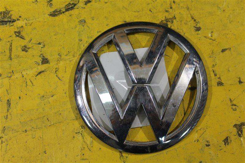 Эмблема крышки багажника Volkswagen Polo 5 2009 задняя