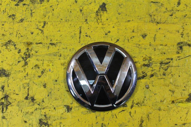 Эмблема крышки багажника Volkswagen Polo 5 2009