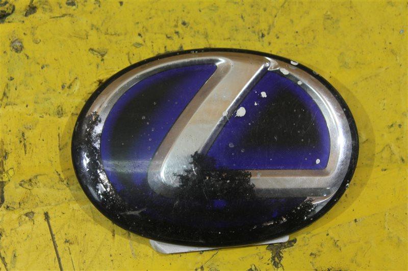 Эмблема крышки багажника Lexus Rx 3 2009