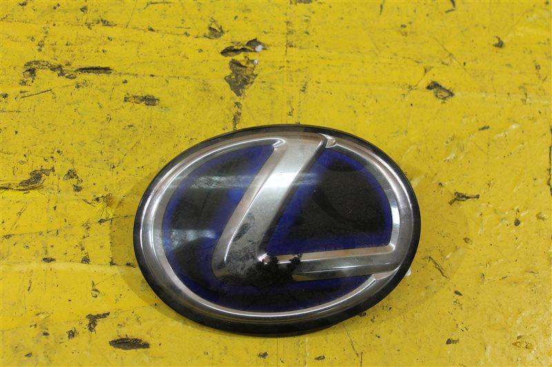 Эмблема решетки радиатора Lexus Rx 3 2009 передняя
