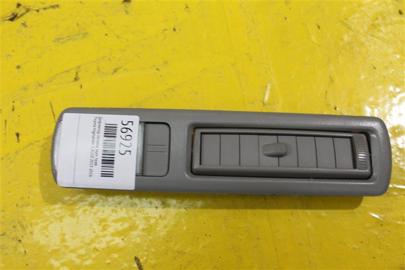 Дефлектор потолка Toyota Highlander 3 XU50 2013 задний правый