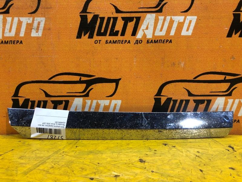 Хром решетки радиатора Mercedes Gl W164 2006 левый верхний