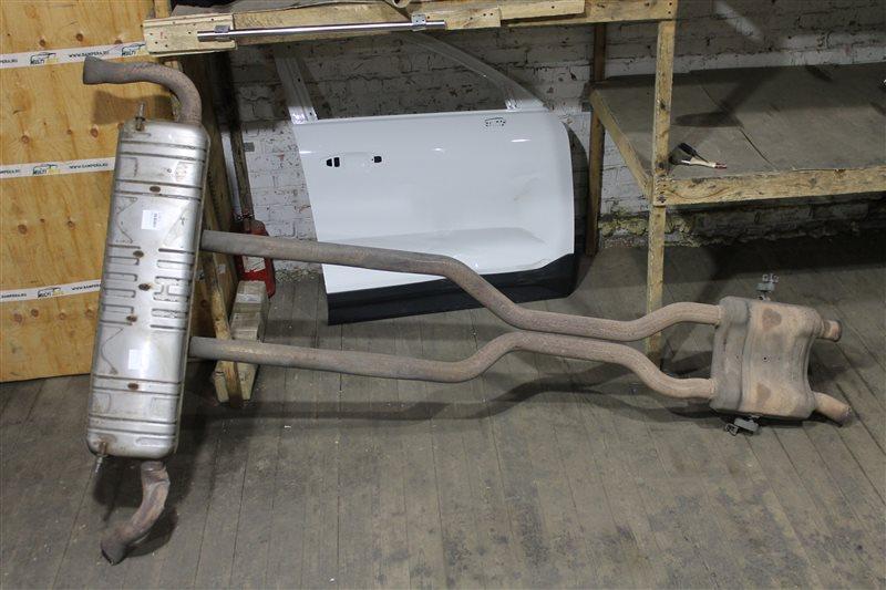 Глушитель Mercedes Gl X166 2012
