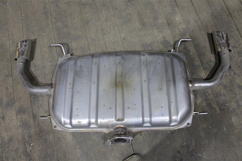 Глушитель Mazda 6 GJ 2012