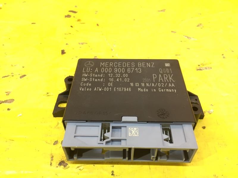 Блок управление парктоника Mercedes Gle W166