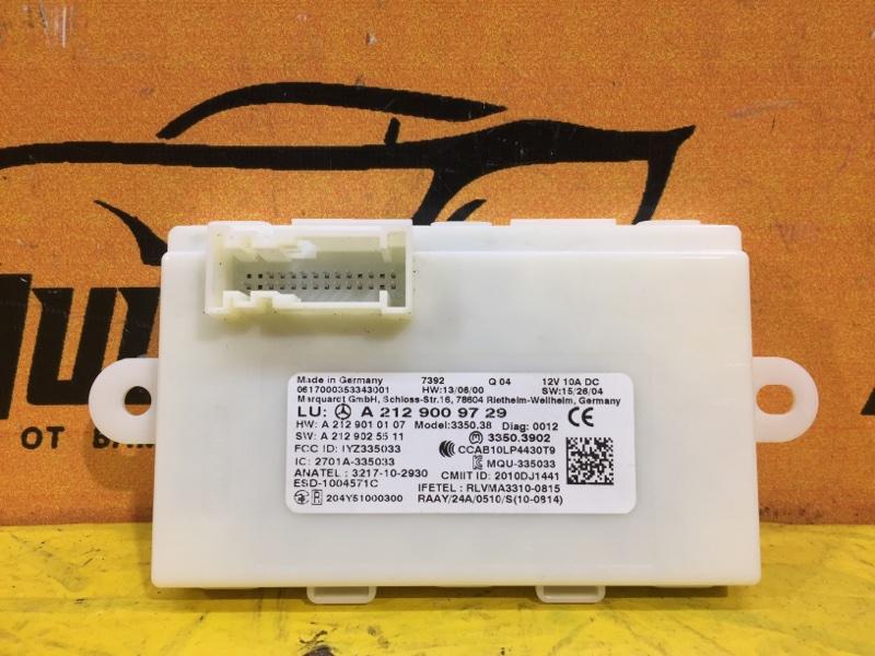 Блок управления Mercedes 117 C117