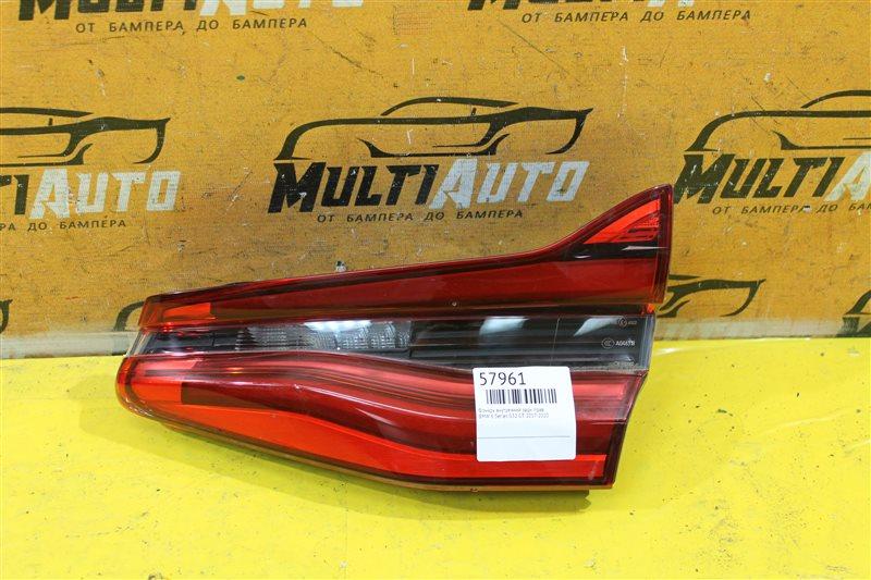 Фонарь внутренний Bmw 6 Series G32 GT 2017 задний правый
