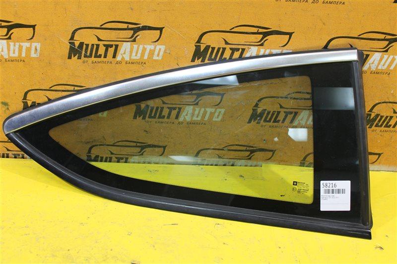 Форточка Opel Astra J GTC 2012 задняя правая