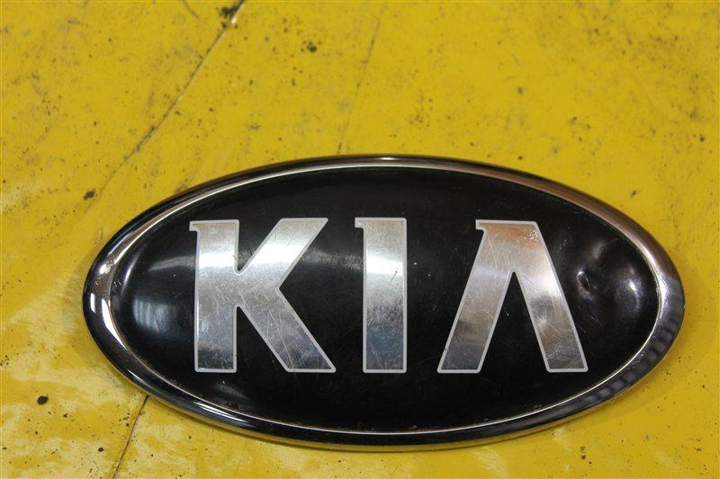 Эмблема решетки радиатора Kia Rio 3 2011 передняя