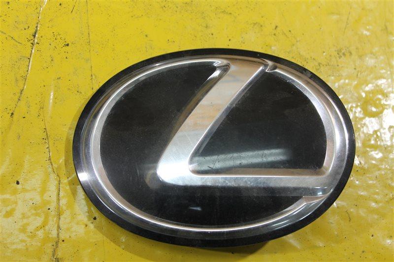 Эмблема решетки радиатора Lexus Rx 3 2008 передняя
