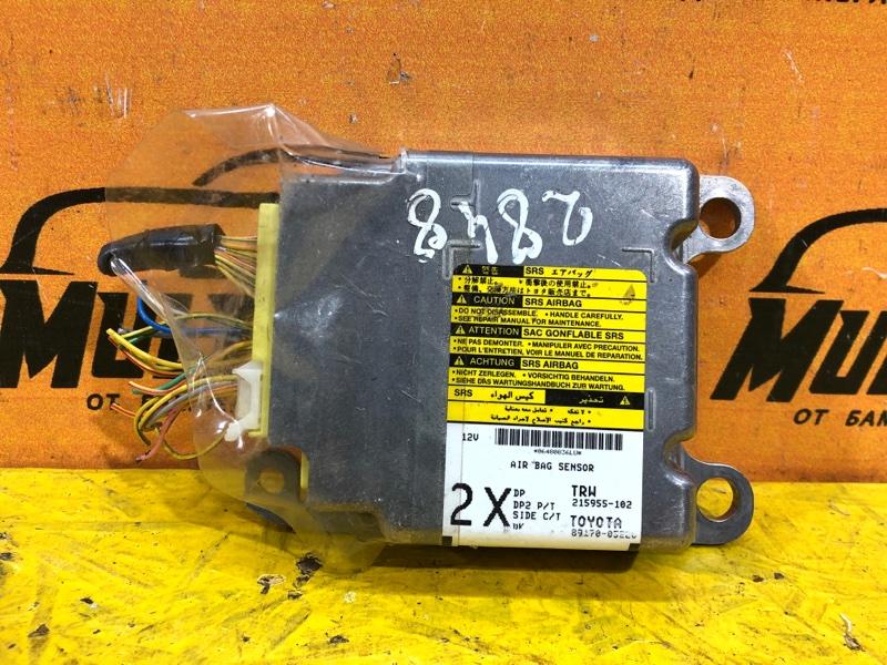 Блок управления airbag srs Toyota Avensis T250